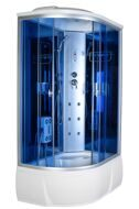 Душевая кабина AquaCubic 3306A R blue mirror